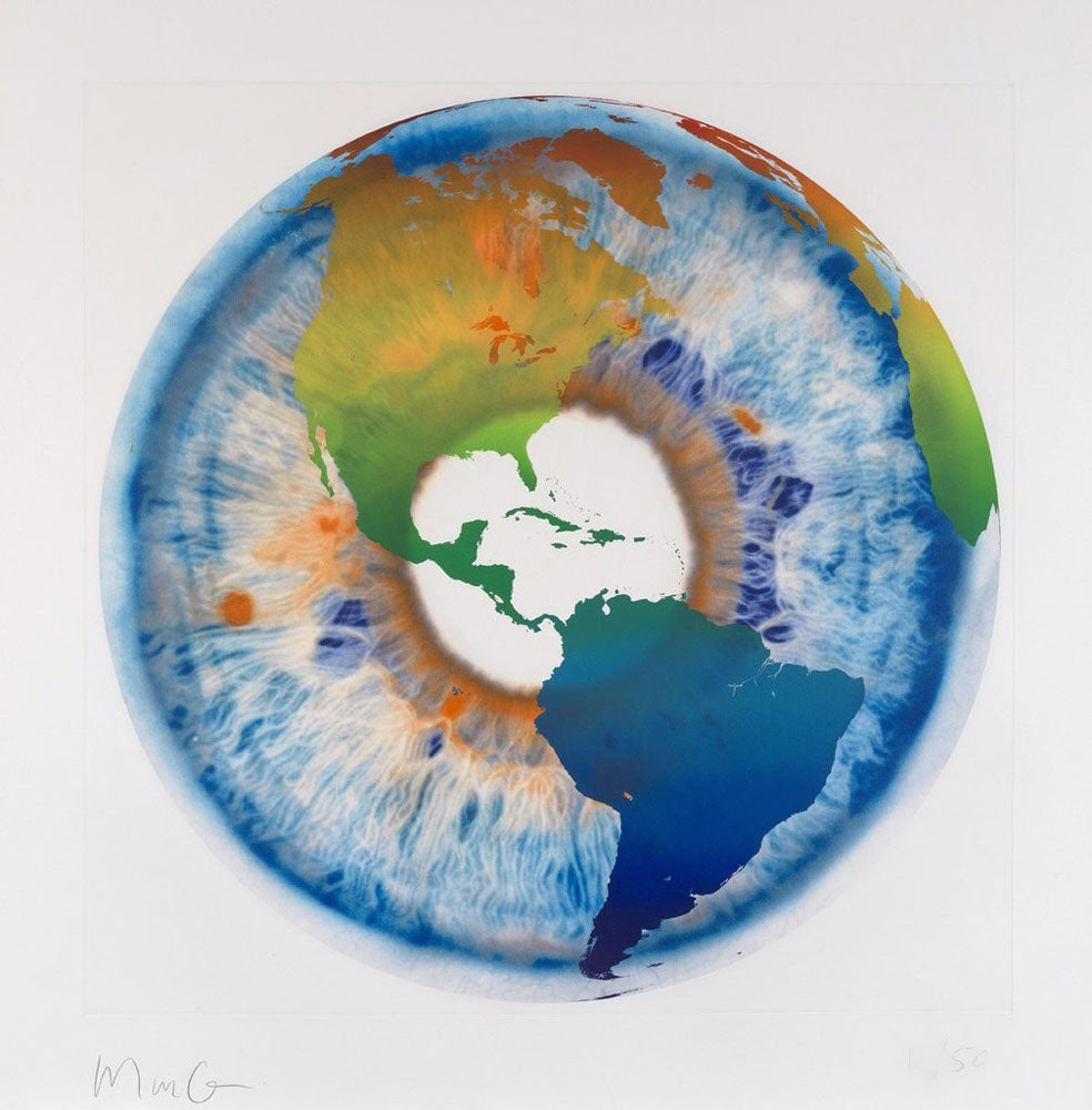 Marc Quinn - Eye of History Etching I (2013)