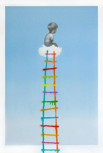 Seth Globepainter - L'échelle The Ladder (2018)
