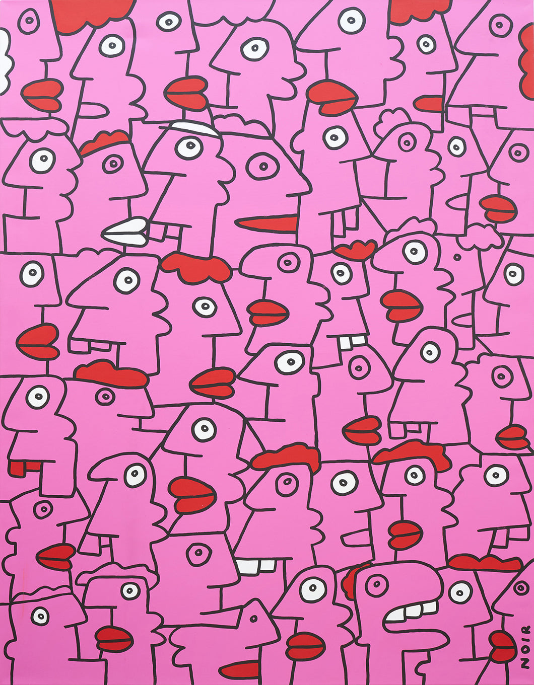 Thierry Noir -The Pink Street Manifest Of Shoreditch (2014)