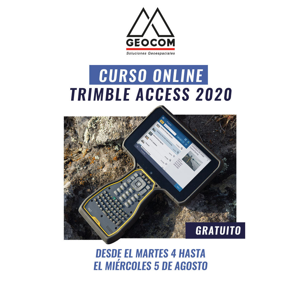 Curso ONLINE Trimble Access 2020
