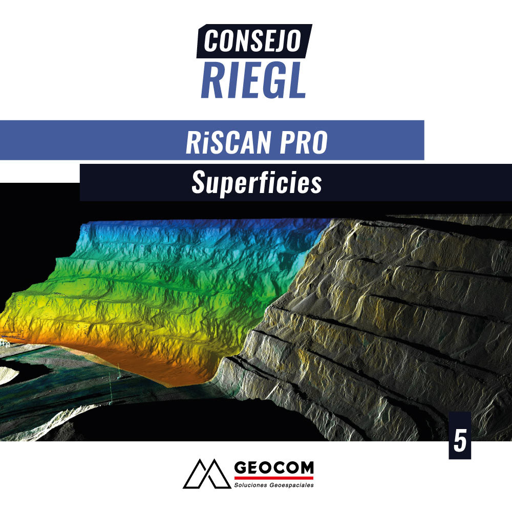 Consejo RIEGL N°5 | RiSCAN PRO: Superficies