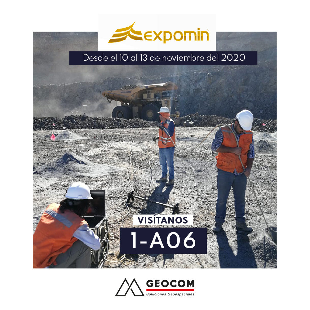 Expomin Virtual | STAND 1-A06 GEOCOM