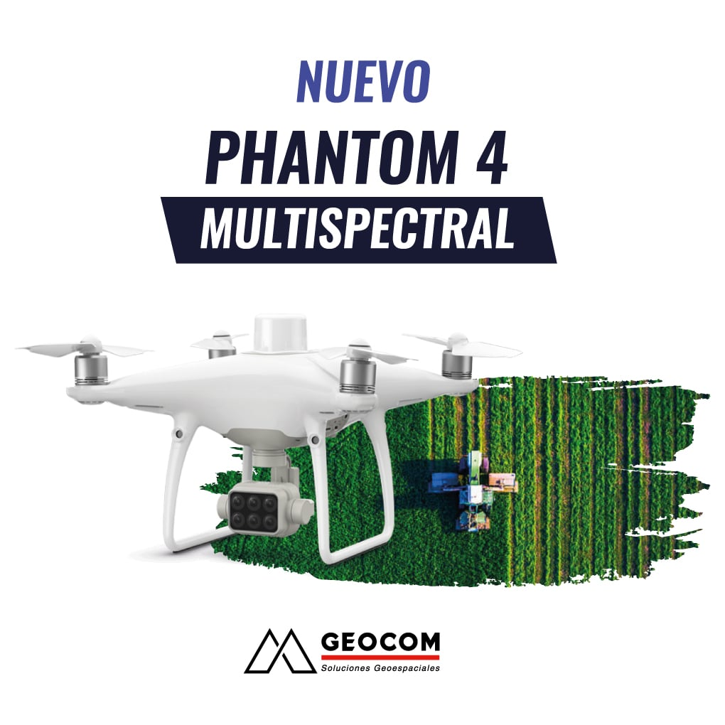 Dron Phantom 4 Multispectral DJI Enterprise