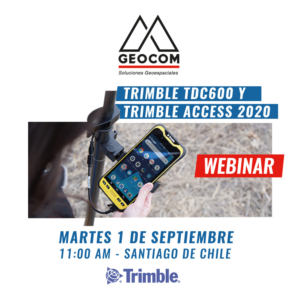 Webinar | Trimble TDC600 y Trimble Access 2020