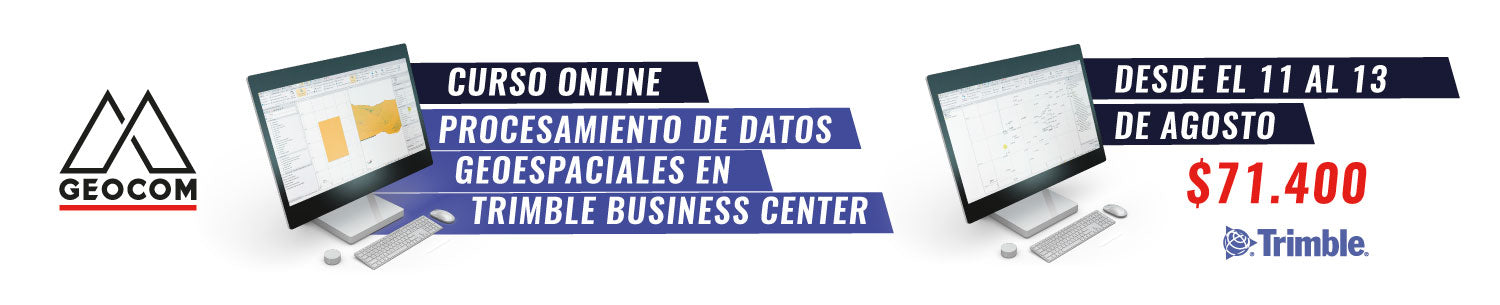 Curso ONLINE | Procesamiento de datos geoespaciales en Trimble Business Center