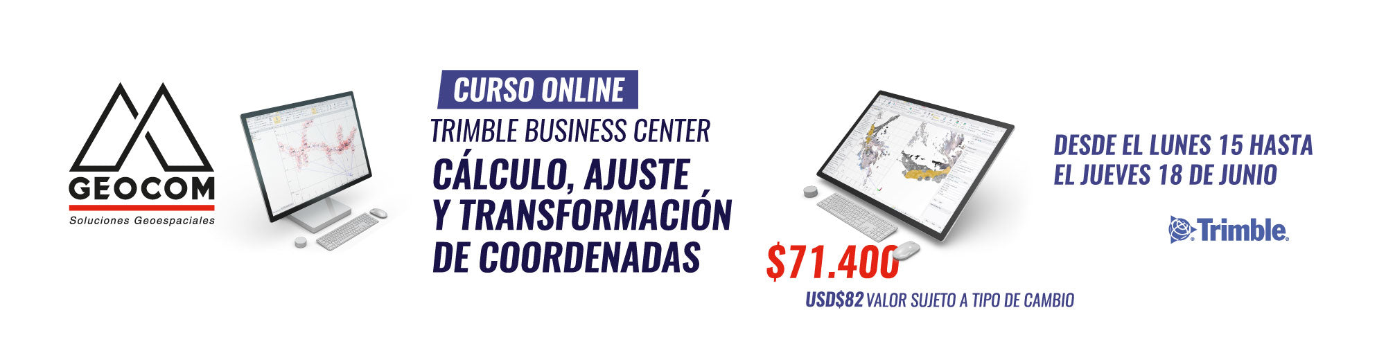 Curso Online Trimble Business Center | Cálculo, ajuste y transformación de coordenadas