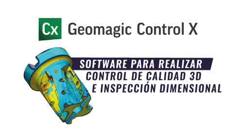 Software Geomagic Control X de 3D Systems
