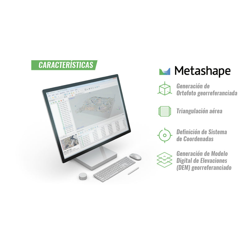 Software Metashape Agisoft