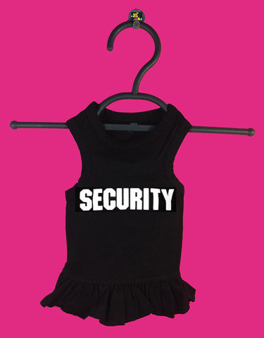 Security Tshirt Dress