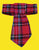 Plaid Dog Neck Tie