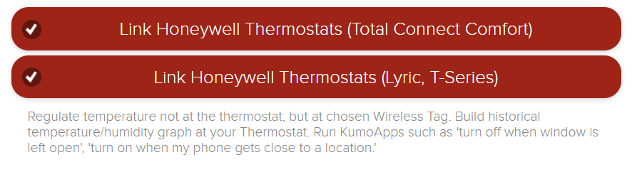 Winter Is Here  Control Honeywell Thermostats With Tags