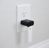 With USB wall plug