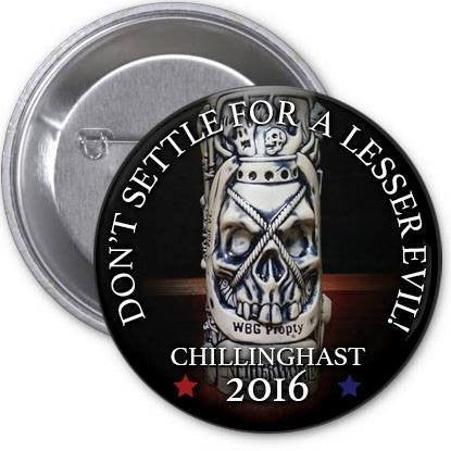 Horror-In-Chief: Chillinghast's Dark Lantern
