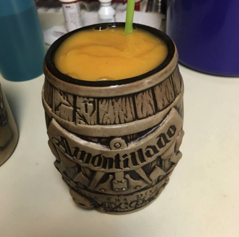 Monster Mixology Monday: Frozen Peach Barrel