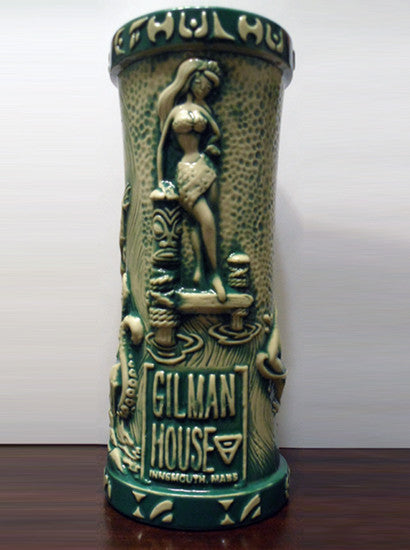 Innsmouth Fogcutter Tiki Mug, series 1 open edition - blue-green