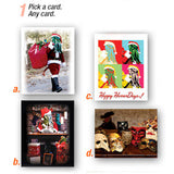 HorrorMark Greeting card & Sticker giftset, mailed!