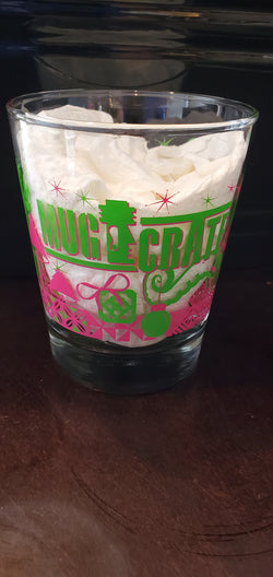 """MugCrate"" Holiday Mai Tai glass"