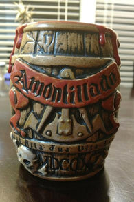 Cask of Amontillado Barrel Tiki Mug, 2017 Drip limited edition II