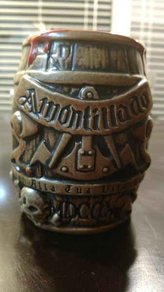 Cask of Amontillado Barrel Tiki Mug, 2017 Drip limited edition I