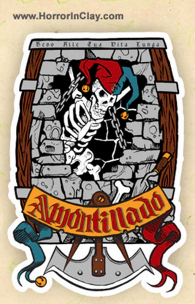 Cask of Amontillado sticker