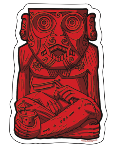 Rue Morgue Dreadful Ape diecut sticker