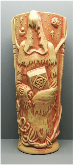 The Pallid Mask tiki mug