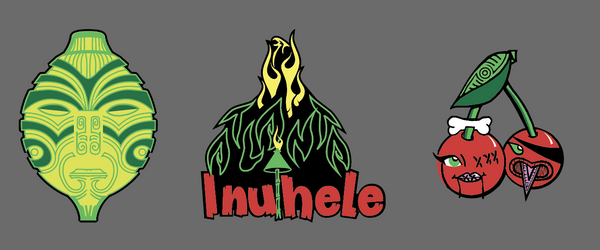 2019 Inuhele enamel pin set