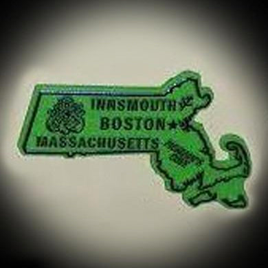 Lovecraft Country State Magnet - Massachusetts