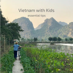 traveling with kids in Vietnam