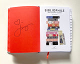 Signed copy of the BIBLIOPHILE 2020 PLANNER