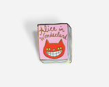 Book Pin: Alice in Wonderland
