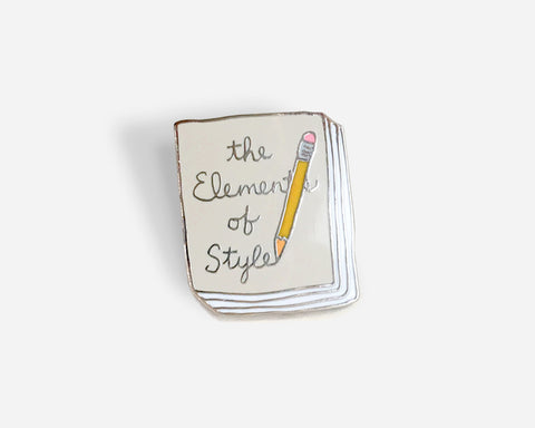Book Pin: The Elements of Style