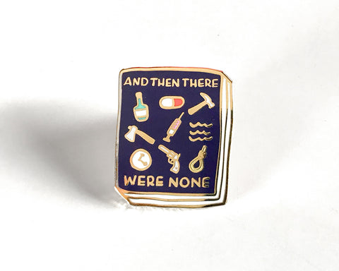 Book Pin: And Then There Were None