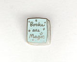 Book Pin: Books Are Magic