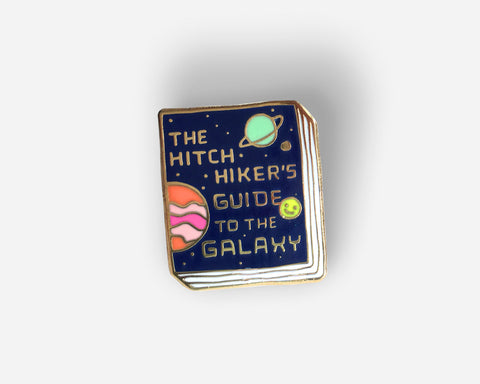 Book Pin: The Hitchhiker's Guide to the Galaxy