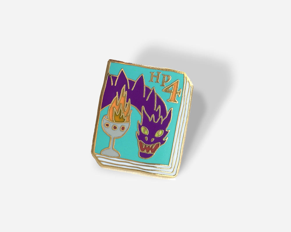 Book Pin: HP #4