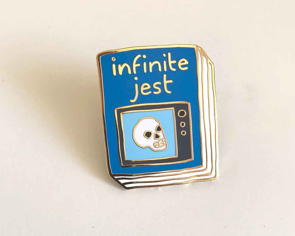 Book Pin: Infinite Jest