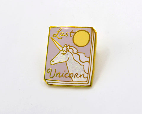 Book Pin: Last Unicorn