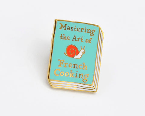 Book Pin: Mastering the Art of French Cooking