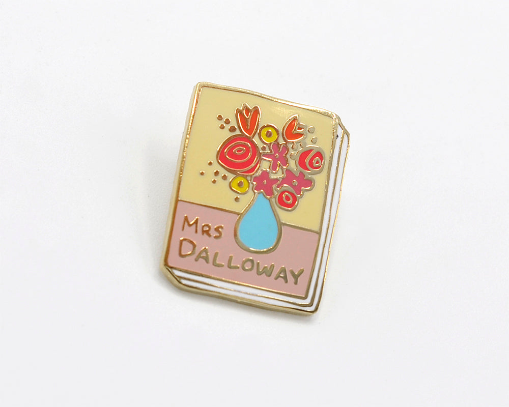 Book Pin: Mrs Dalloway