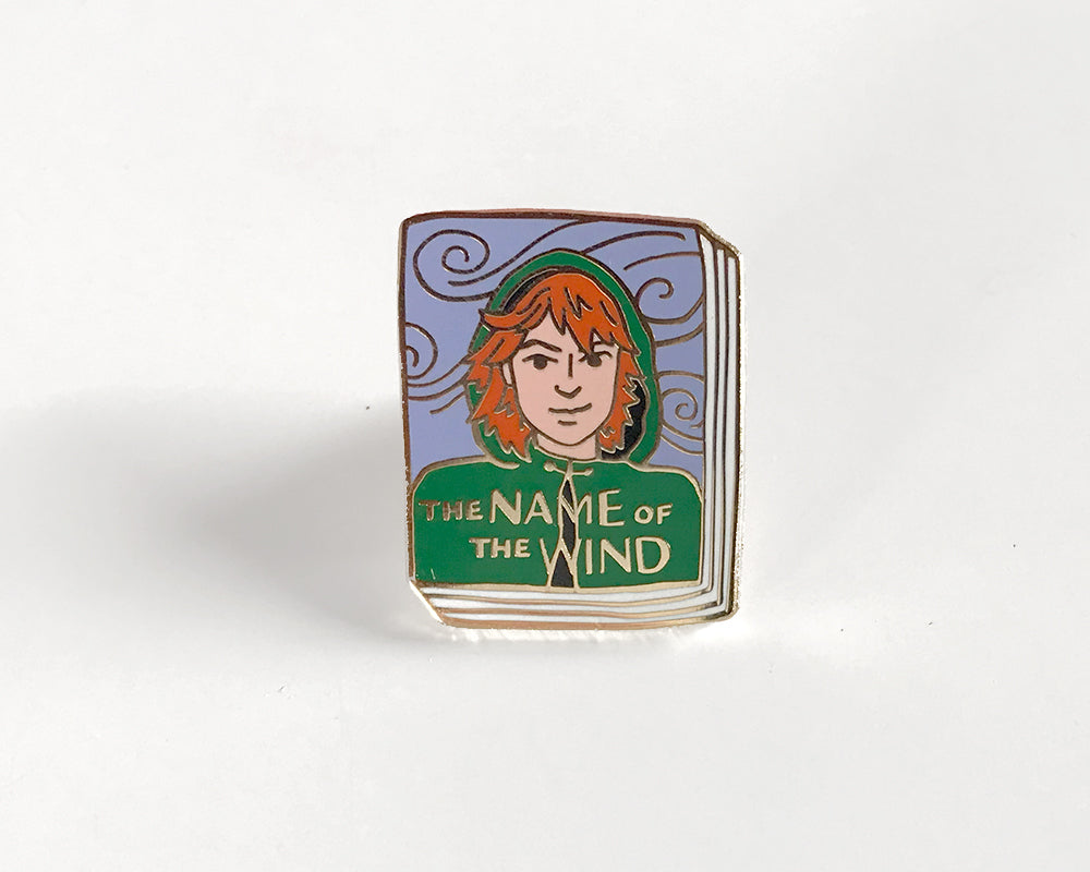 Book Pin: The Name of the Wind