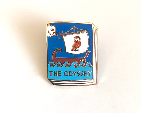 Book Pin: The Odyssey