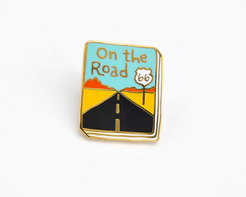 Book Pin: On the Road