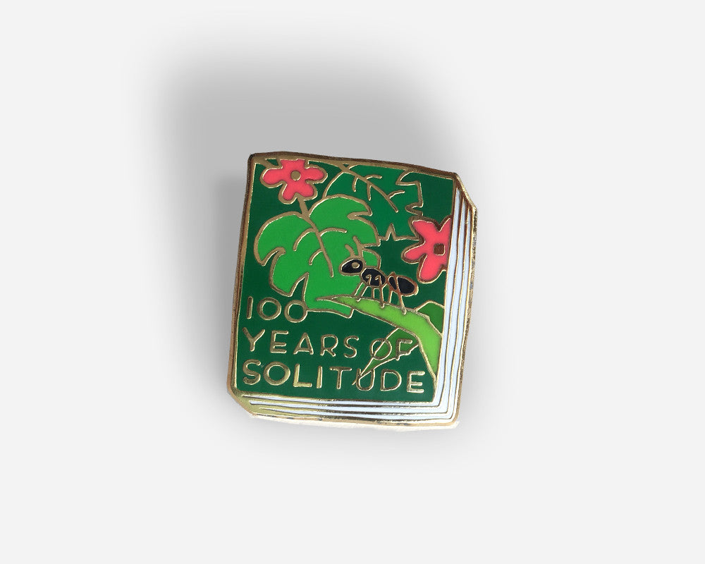 Book Pin: 100 Years of Solitude