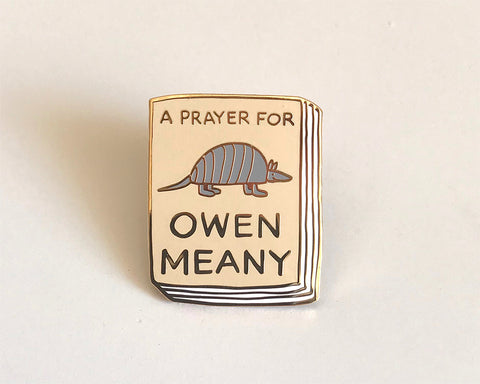 Book Pin: A Prayer for Owen Meany