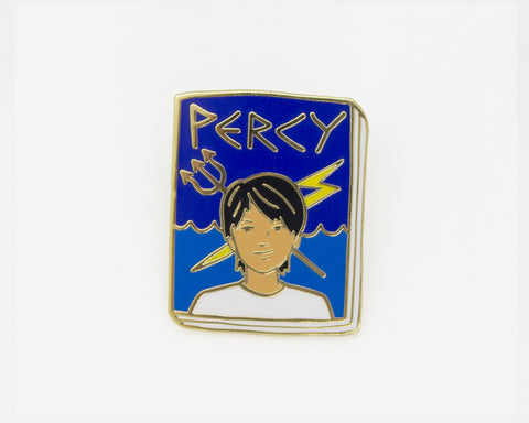 Book Pin: Percy