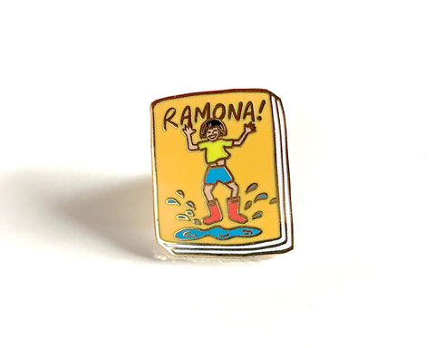 Book Pin: Ramona!