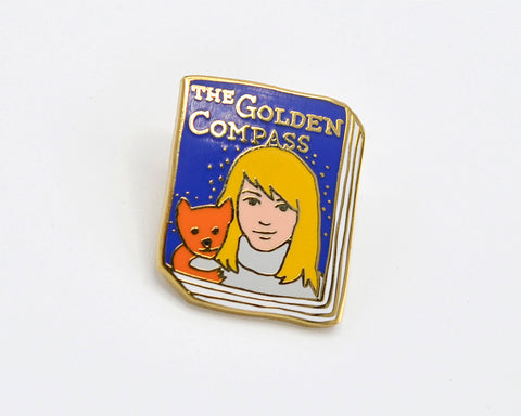 Book Pin: The Golden Compass