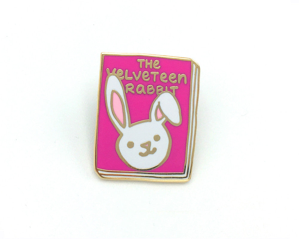 Book Pin: The Velveteen Rabbit