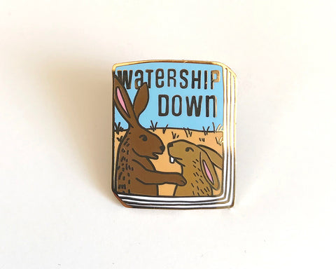Book Pin: Watership Down